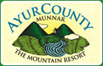 ayur county munnar mountain resort logo